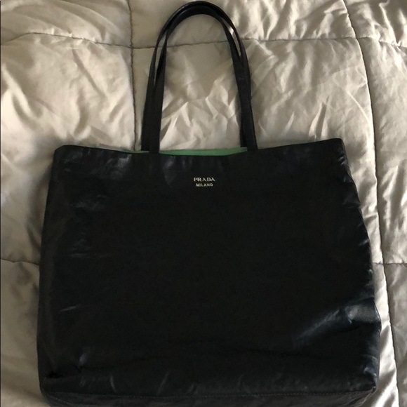 81533099f197 Prada Bags | Reversible Tote Bag Nappa Antique Leather | Poshmark